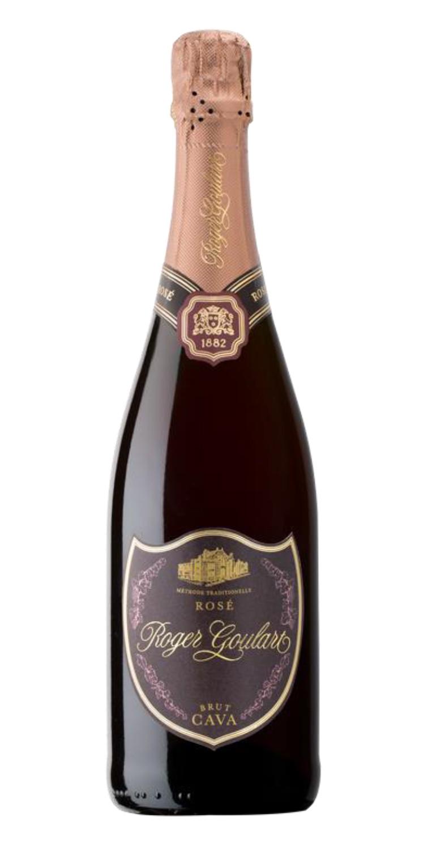 Botella de cava Roger Goulart Rosé Brut 2019