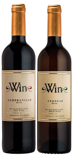Win Sin Alcohol Tempranillo y Verdejo