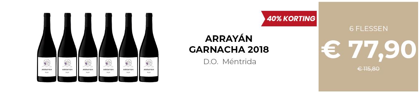 ARRAYÁN GARNACHA 2018