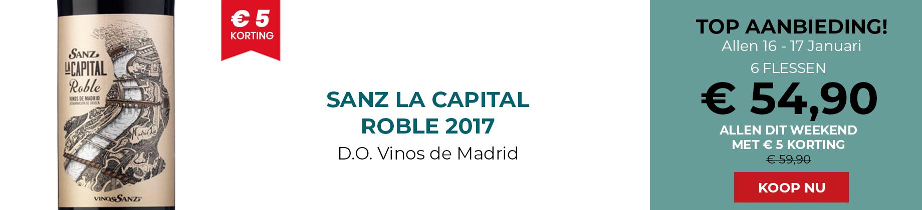 Sanz La Capital Roble 2017